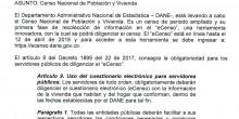 eCENSO OBLIGATORIO PARA EMPLEADOS PÚBLICOS