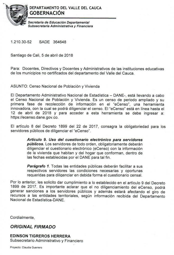 CIRCULAR CENSO NACIONAL DE POBLACION-1